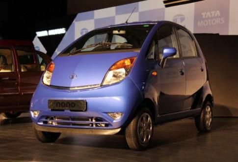 Tata Motors trinh lang Nano 2013