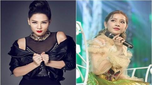Thu Minh mia mia Chi Pu cam mic: Dat set mai ngan doi cung khong sang noi