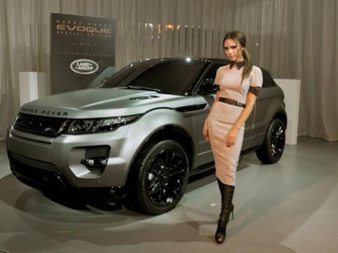 Victoria Beckham thiet ke noi that Range Rover Evoque