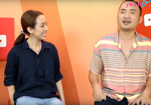 "Vo chong Thu Trang -Tien Luat theo trao luu ""Rich Kid"", tiet lo gia tri that cua doi giay Tran Thanh mua cho"