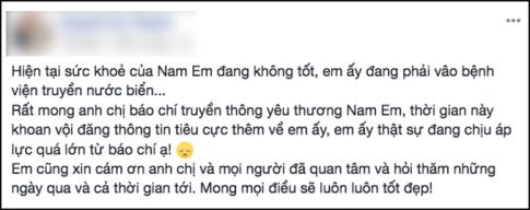 Xon xao thong tin Nam Em tu tu, quan ly chinh thuc len tieng dinh chinh