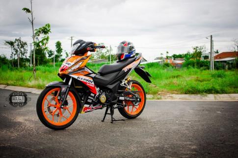 An tuong cung chiec Winner do phien ban Repsol cua biker Viet