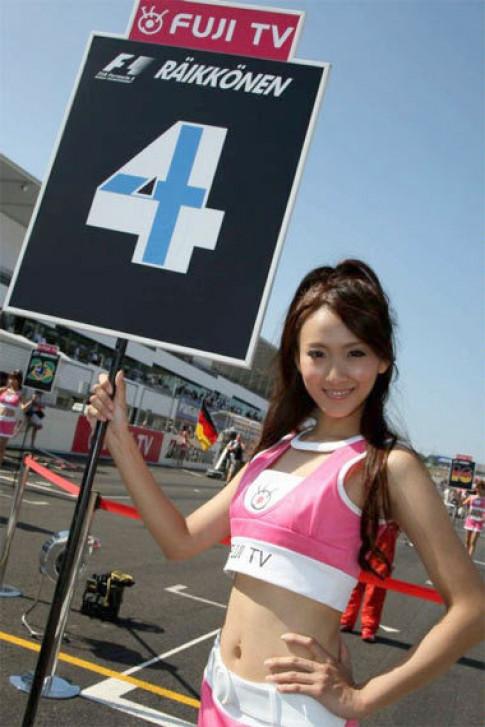 'Chan dai' tren duong dua Suzuka