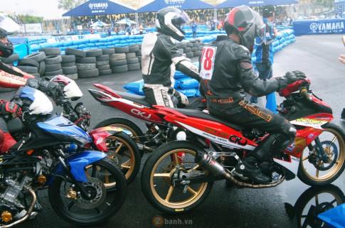 [Clip] Exciter do tranh tai tai giai dua xe Yamaha GP