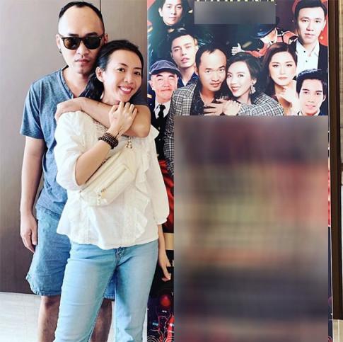 Hai huoc co doi, an mac cung phai theo cap, Thu Trang - Tien Luat luon khien CDM ghen ty
