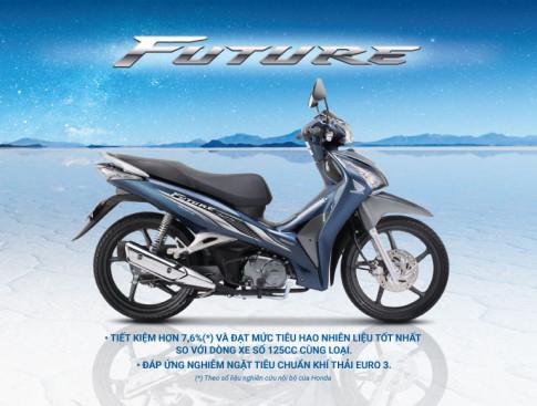 Honda Viet Nam gioi thieu Future FI 125cc dap ung tieu chuan khi thai Euro 3 voi thiet ke moi