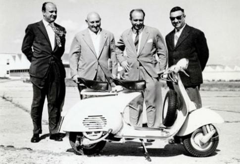 Lịch sử phát triển của Vespa PX