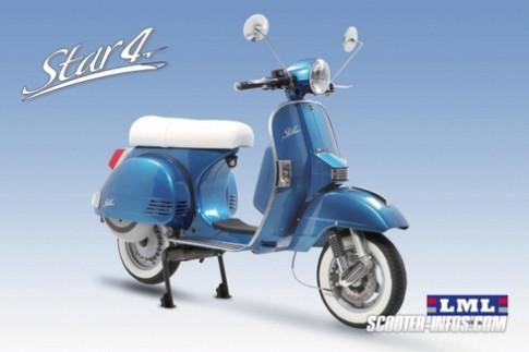 LML 4 Star - scooter dieu da