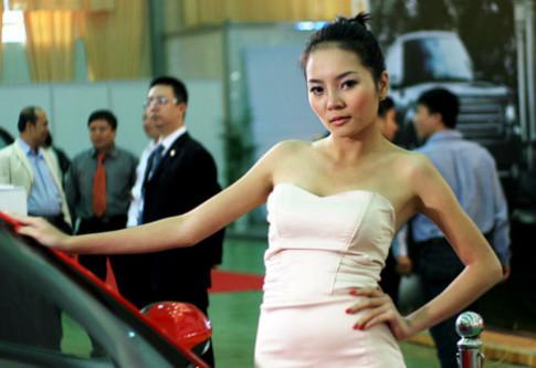 Nguoi dep Autotech 2009 tai Ha Noi