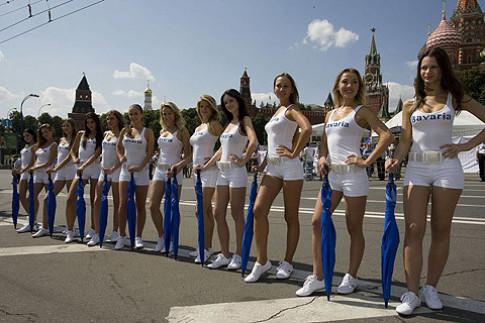 Nguoi dep tai Bavaria Moscow City Racing