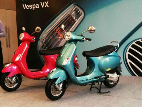 Piaggio gioi thieu Vespa VX phien ban moi tai An Do
