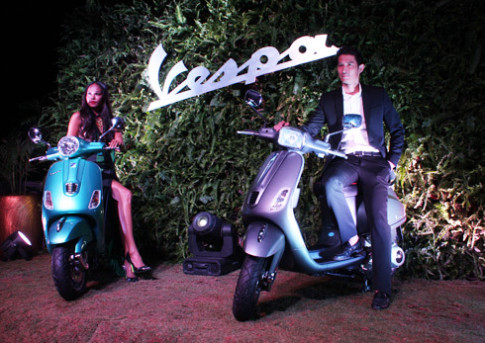 Vespa LX mới có mặt tại Việt Nam