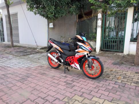 Winner do repsol don gian cua biker Binh Duong