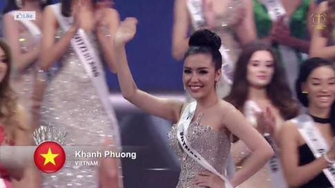 Á hậu Khánh Phương xuất sắc vào Top 25 của Hoa hậu Siêu quốc gia 2017