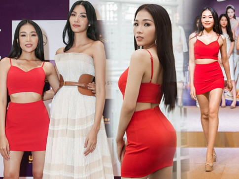 "H'Hen Nie va dan nguoi dep Viet an dien long lay, ""chat chem"" tai buoi So khao MUVN 2019"