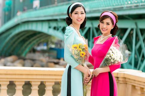 Ngam A hau Thanh Tu, Diem Trang dien ao dai doi la thay tet den that gan roi!
