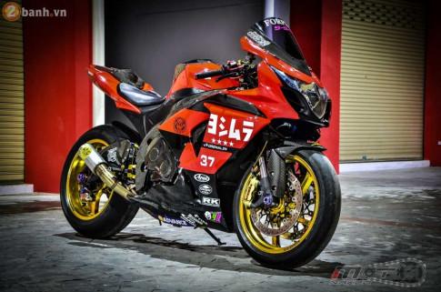 Siêu xe thể thao Suzuki GSX-R1000 hoành tráng trong bản độ Racing từ Thái Lan