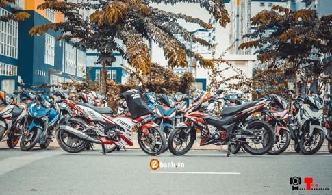 Winner Binh Duong giao luu cung Exciter Thu Duc