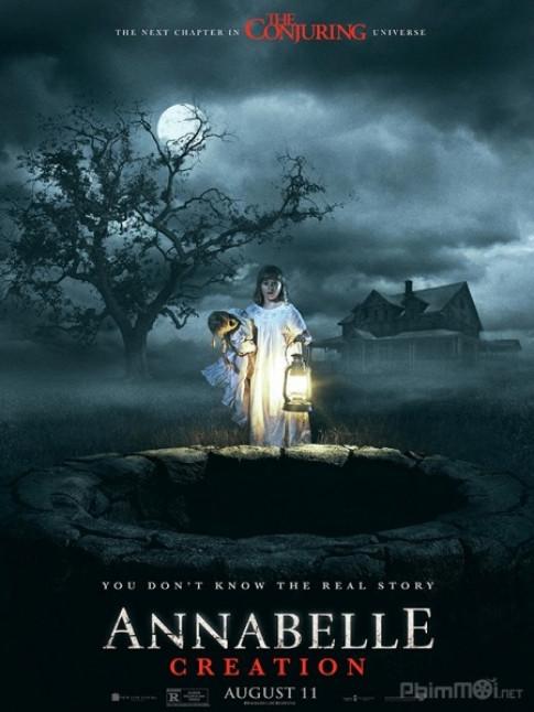 Chi ngoi mot cho, 'Annabelle' nhe nhang len ngoi vuong phong ve