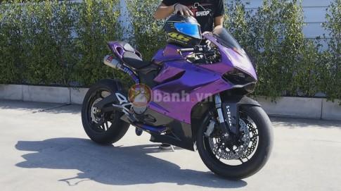[Clip] - Ducati Panigale 899 len po Akrapovic full system Titanium
