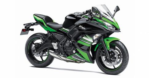 Kawasaki gioi thieu phien ban hoan toan moi cua Ninja 650 2017