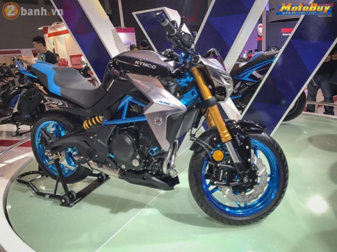 Kymco X Rider 400 mau nakedbike hoan toan moi duoc xay dung dua tren chiec Kawasaki ER-6N