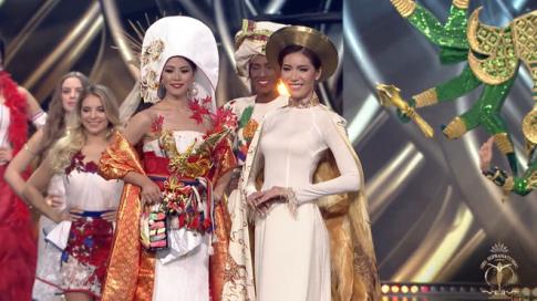 Chung ket Miss Supranational 2018: Minh Tu truot top 5 day nuoi tiec, Puerto Rico dang quang