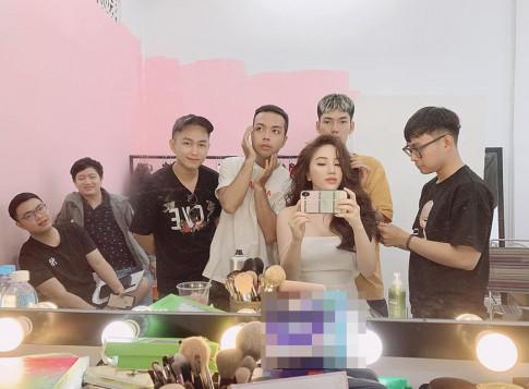 Di makeup chup anh, Bao Thy duoc den 6 nguoi ho tong nhu ba hoang!