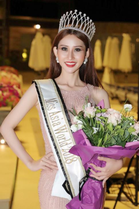 Du bi choi xau, dai dien Viet Nam van hien ngang dang quang ngoi vi cao nhat tai Miss Asia World 2018