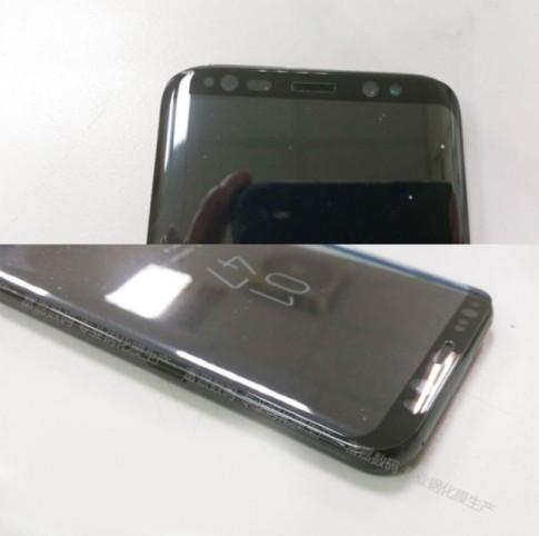 Lo anh Samsung Galaxy S8 dang hoat dong