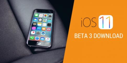 Phien ban Beta thu 3 cua iOS 11 da chinh thuc duoc phat hanh