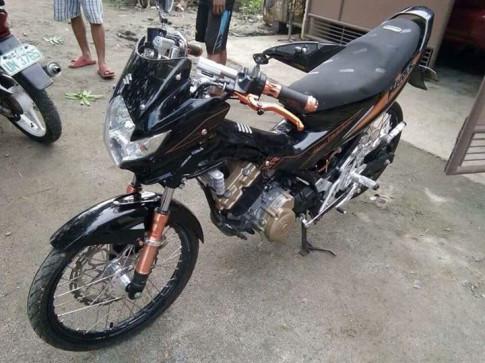 Raider 150 do banh cam cua dan choi Philippines