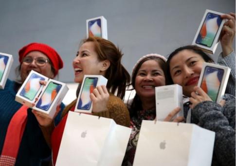 Samsung khon kho vi iPhone X... khong ban chay nhu mong doi