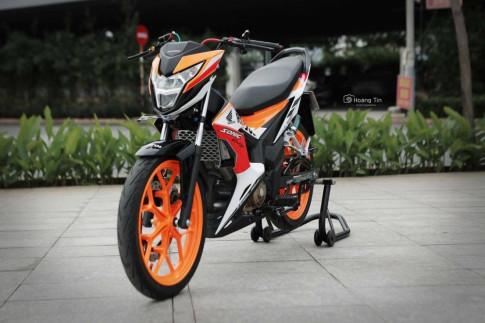 Sonic 150 Repsol day an tuong voi ban do dat gia cua biker Viet