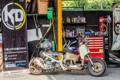 Bản độ đầy phong cách và độc đáo từ Honda Zoomer 50cc
