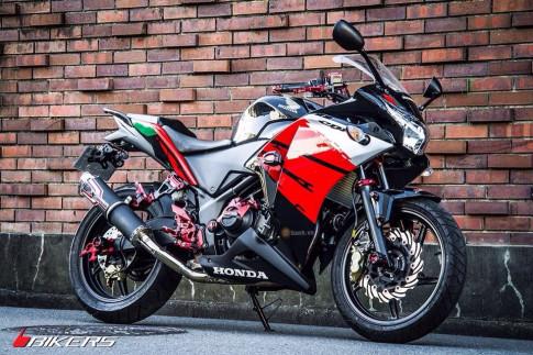Ban do full option Biker day chat choi tu Honda CBR150R