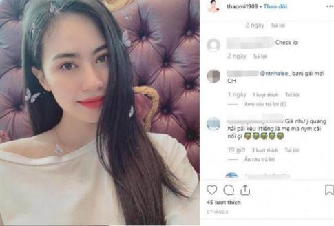 Bị đồn là người yêu mới của Quang Hải, cô gái gây chú ý vì mặt xinh, dáng chuẩn mẫu