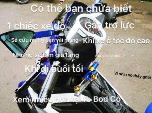 Co the ban chua biet den kien thuc xe may?! (Phan 1)