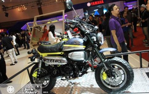 Concept Honda Monkey 125 vua duoc Honda trinh lang