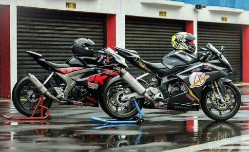 GSX-R150 Racing so dang cung CBR250 Racing cuc ngau
