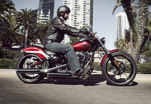 Harley Davidson trinh lang xe moi gia 17.900 USD