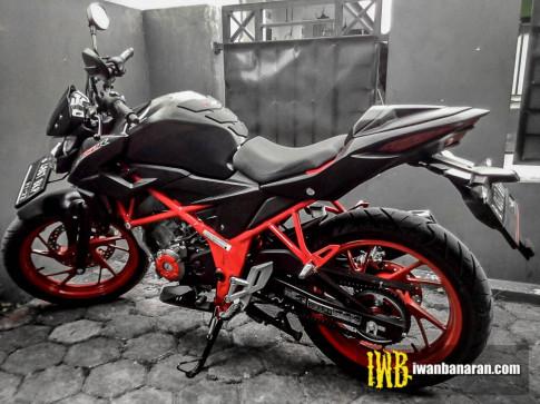 Honda CB150R do theo phong cach CBR250RR cuc gau