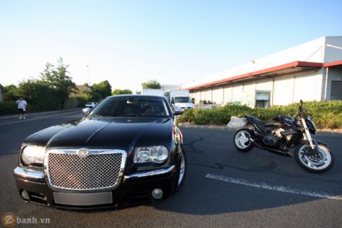 Naked Bike co bap CB1000R do dang cung Chrysler