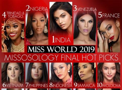 Người đẹp Pháp và Ấn Độ đạt Á Hậu Miss World sở hữu nhan sắc còn hơn cả Hoa Hậu