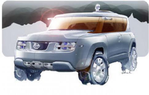 Nissan Terranaut - chinh phuc moi dia hinh