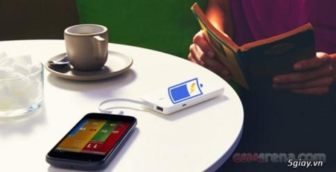 Pin cua Motorola Moto G co the goi dien 3G lien tuc hon... 14 gio