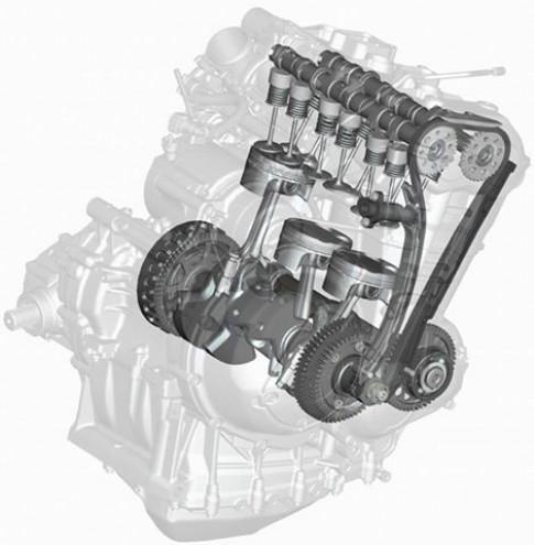 TRIUMPH sap thay the Honda trong vai tro cung cap dong co Moto2