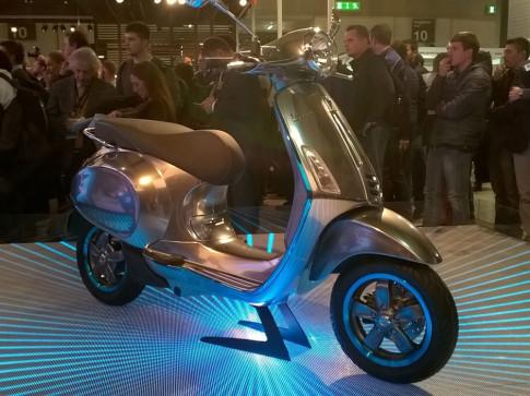 Vespa Elettrica xe dien cua Piaggio gia 10.000 USD