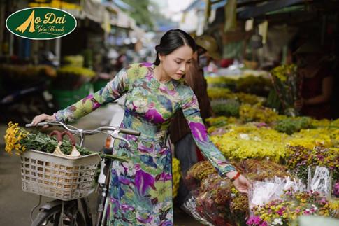 Ao dai Yen Thanh – Nguoi ban dong hanh cung phu nu Viet