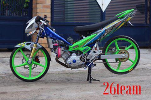Exciter 135 do Drag cuc ham ho